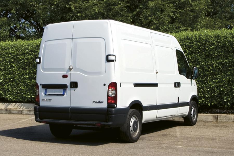 Sikkerhetslås til transportbiler, varebiler og andre arbeidskjøretøy.