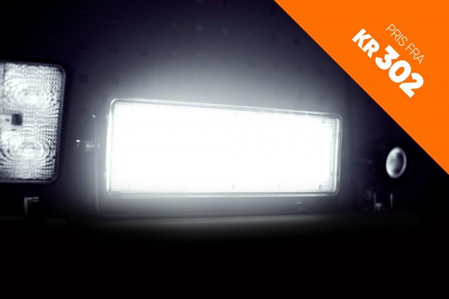 LED-arbeidsbelysning, lyskastere og arbeidslamper