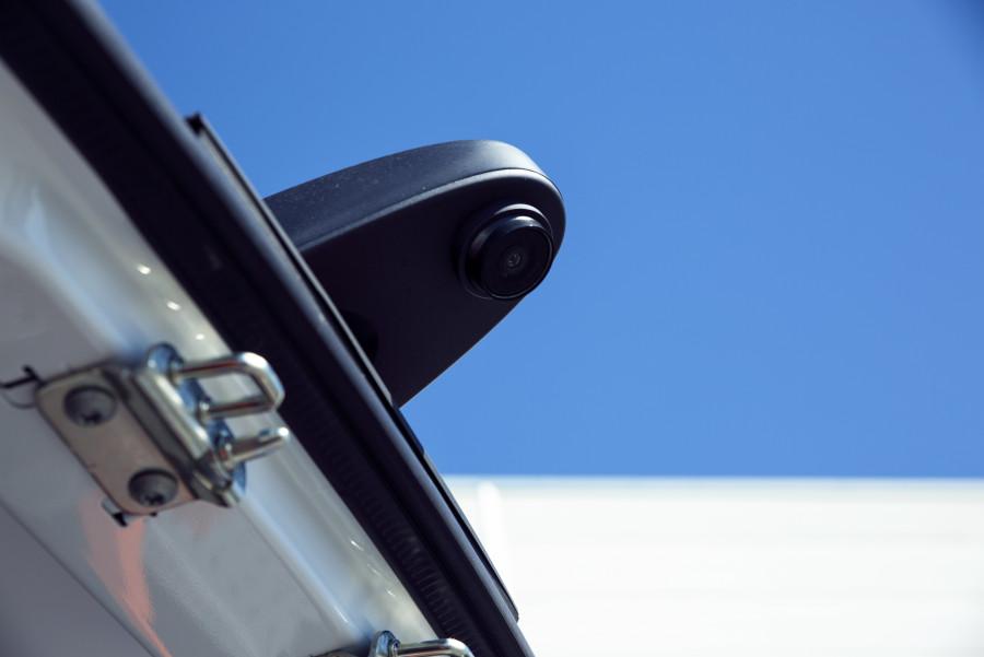 Ryggekamera og ryggesensorer fra Work System