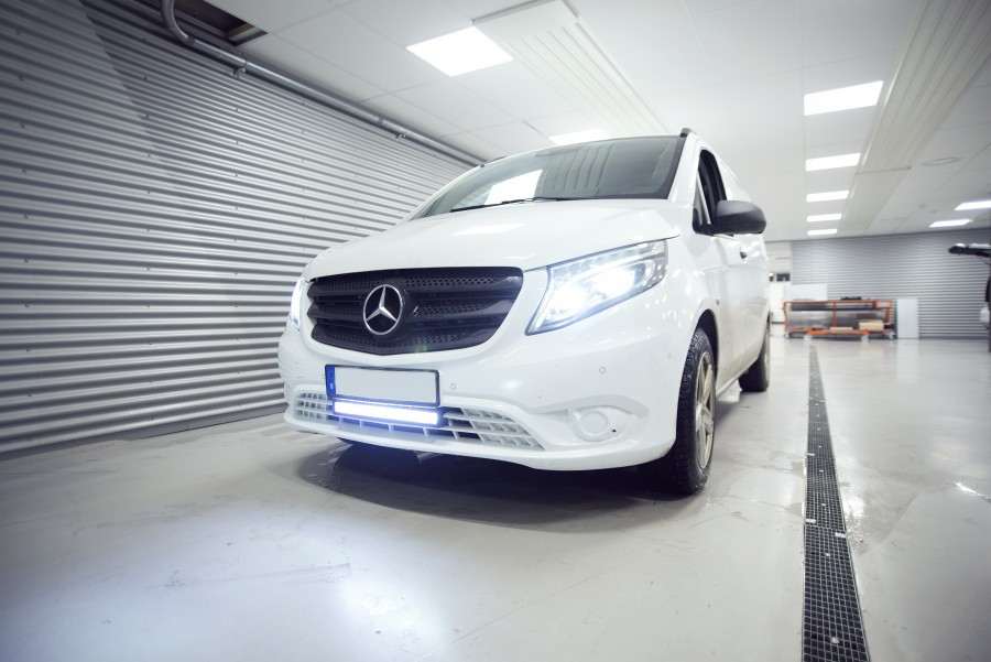 Ekstralys og LED-ramper på din arbeidsbil eller personbil