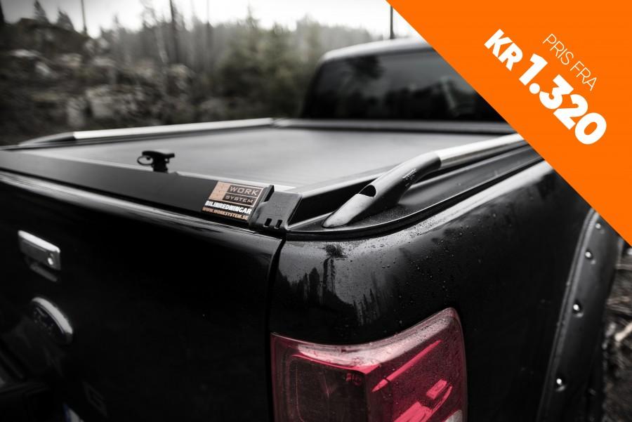 Hardtoper, lasteplanlokk og rolltop som passer til bilen din.