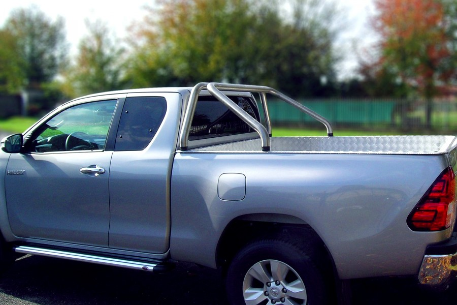 Rostfri flakbåge Toyota HiLux 2016-.