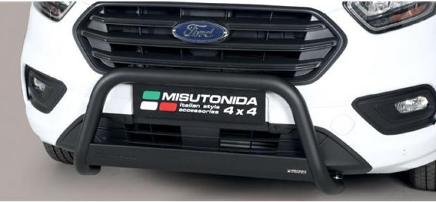 Svart Frontbåge EU till Ford Custom 2018-.