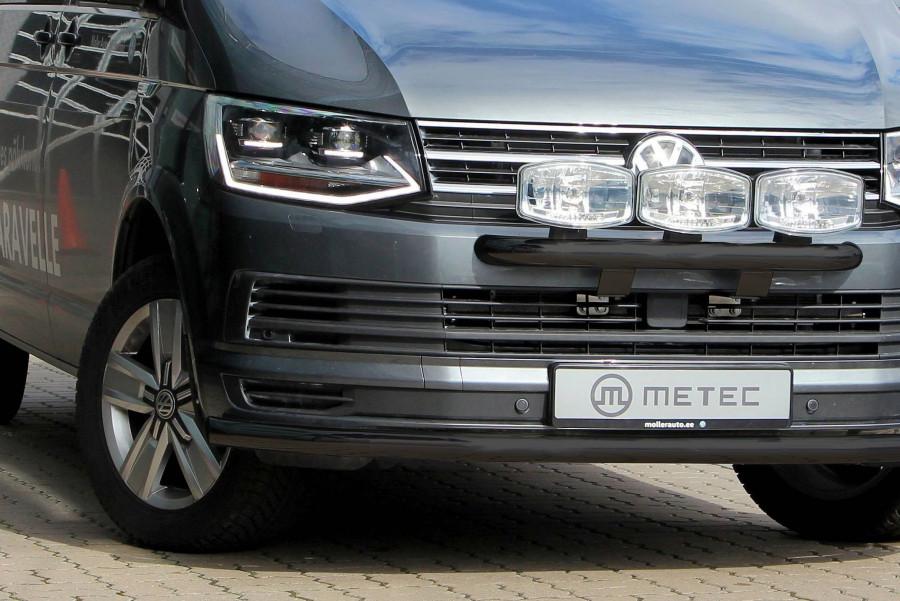 Svart frontrör (Citybåge) till VW T6 2016-2019.